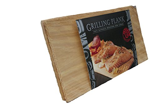 Great Deal! Gourmet Pacific Cedar Grill Planks - (2 Pack 14 x 7 x 3/8)