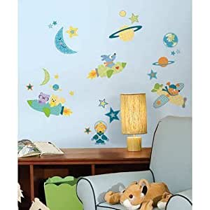 (10x18) Rocket Dog Peel & Stick Wall Decals by Poster Revolution