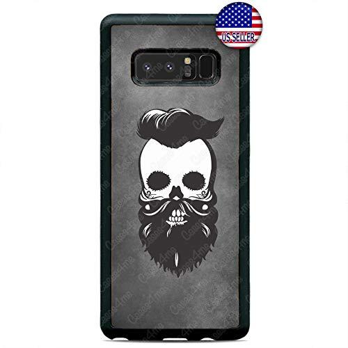 Case Lock LTD -Barber Sugar Skull Cool Slim Case Cover for Samsung Galaxy Note 9