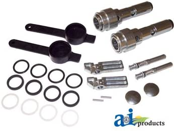 Hydraulic Coupler Conversion Kit John Deere Couplers to ISO Pioneer Couplers RE206778
