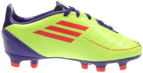 adidas Unisex-Kinder Fußballschuhe Electricité/Infrarouge/Violet anodisé
