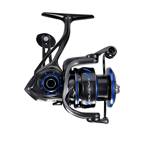 CS10 Spinning Reels,Ultralight Premium Magnesium Frame Fishing Reel with 10+1 Corrosion Resistant Bearings Smooth Powerful Fishing Reel Spinning with 19Lb Carbon Fiber Drag & 6.2:1 Gear Ratio Reels