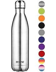 Ecooe Thermosflasche 500ml-750ml Doppelwandig Trinkflasche Edelstahl Wasserflasche Vakuum Isolierflasche