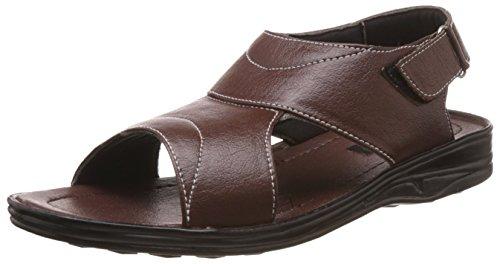 Vokstar Men's Brown Sandals and Floaters
