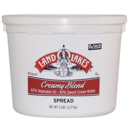 Land O Lakes European Style Creamy Blend Butter - Whipped, 5 Pound -- 2 per case. by Land O Lakes (Image #1)