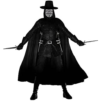 "Amazon.com: V for Vendetta 12"" Action Figure w/sound: Toys & Games"