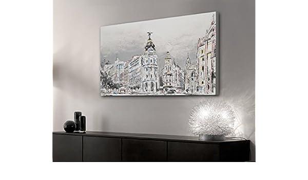 PEÑA VARGAS - Insieme - Cuadros Decorativos - Cuadro Loving Madrid (150x80): Amazon.es: Hogar