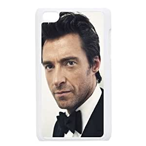 iPod Touch 4 Case White Hugh Jackman Actor Hansome N4H1BS