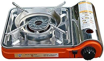 SODIAL - Mini Estufa portátil de Gas para Barbacoa al Aire ...