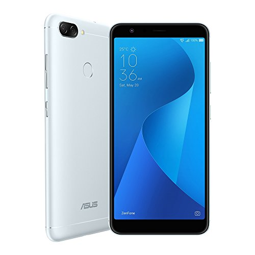 ASUS ZenFone Max Plus (M1) ZB570TL 3GB / 32GB 5.7-inches Dual SIM Factory Unlocked – International Stock No Warranty (Azure Silver)