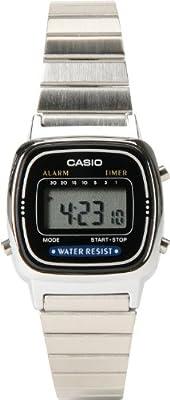 CASIO Small Digital Classic Series Women's Stylish Watch - Silver One Size