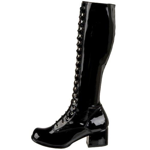 Funtasma Retro Stiefel RETRO-302 - Lack Schwarz 45 EU: Amazon.de: Schuhe &  Handtaschen
