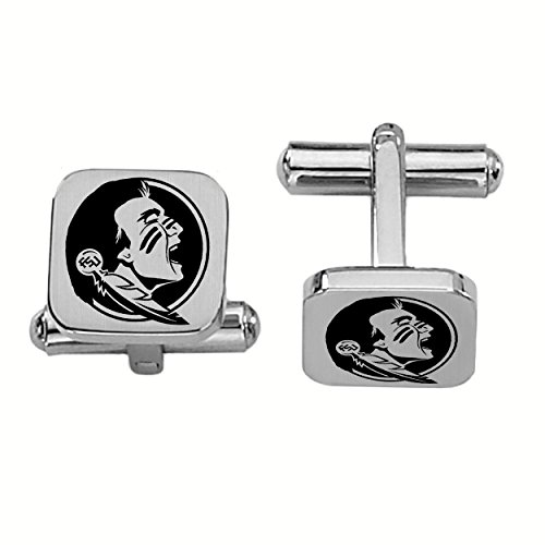 College Jewelry Florida State Seminoles Stainless Steel Square Cufflinks by College Jewelry