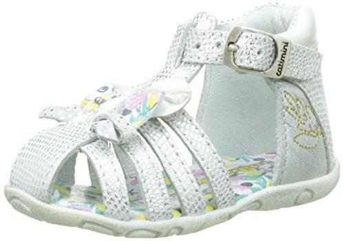 Catimini Cygne - Zapatos de primeros pasos Bebé-Niños Plateado - Argent (11 Vte Argent Dpf/Zabou)