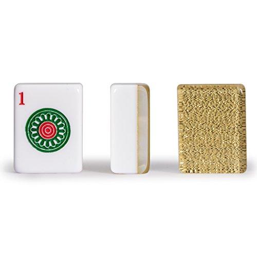 Yellow Mountain Imports Set of 166 American Mahjong (Mah Jong, Mahjongg, Mah-Jongg, Mah Jongg) Tiles,