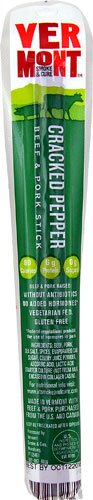 Vermont Smoke and Cure Beef & Pork Stick Gluten Free Cracked Pepper -- 1 oz
