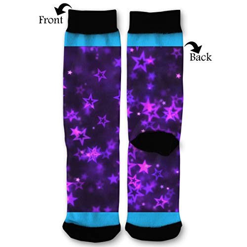 Fashion Travel Breathable Socks Falling Star Shapes Animation