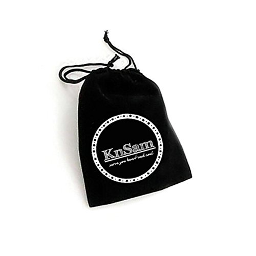 48db7c236c79 Mejor KNSAM Collar Plata Mujer