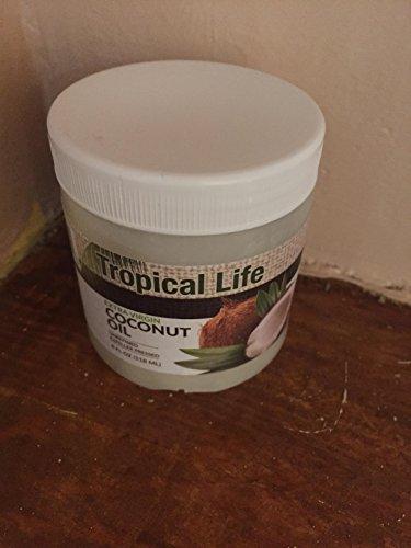 Tropical Life Extra Virgin Coconut Oil 4Fl oz