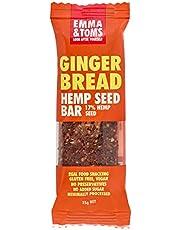 Emma and Tom's Gingerbread Hemp Seed Bar 35 g x 12