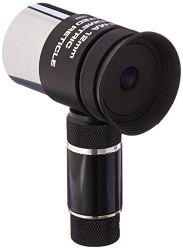Meade Instruments 07069 12-Millimeter Modified Achromatic Eyepiece with Illuminated 1.25-Inch Reticle (Black)