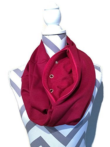 bonding-and-carrying-scarf-for-sugar-gliders-rats-hedgehogs-or-other-small-animals-in-burgundy-knit