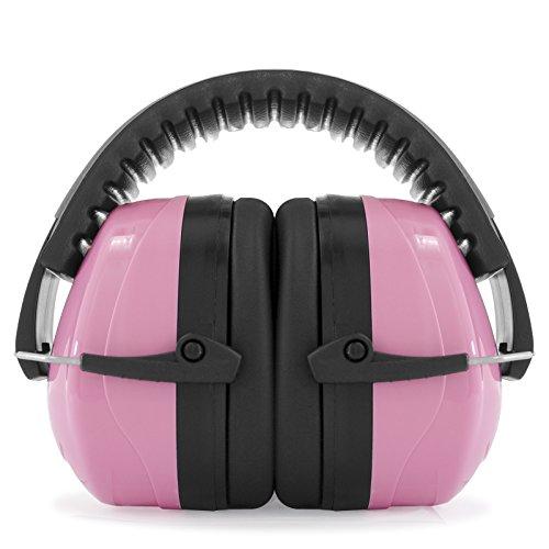 JORESTECH EAR MUFF LUXURY STYLE 27 dB NRR Premium Quality (Pink) by JORESTECH