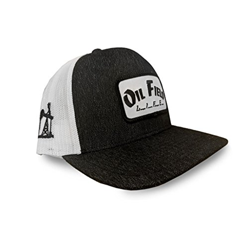 pretty nice 38671 53a56 Oil Field Life Heather Black Patch Cap - FT1812