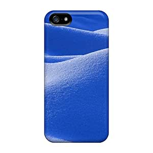 Awesome Beautiful Glistening Snow Flip Case With Fashion Design For Iphone 5/5s