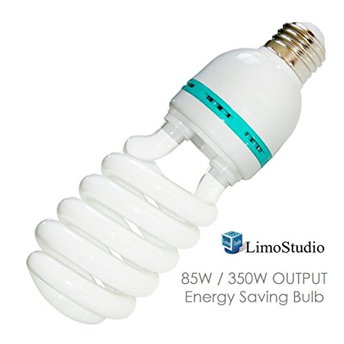 LimoStudio Photography Studio 85 Watt Light Bulb 6500K CFL Day Light, ()
