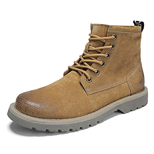 LOVDRAM Stiefel Männer Männer Männer Martin Stiefel Men's High Autumn and Winter Retro Pu Tooling Stiefel braun Desert Outdoor Men's schuhe aeb843