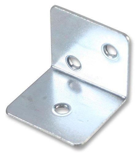 Air Brkt - Stl. Brkt 25x25mm Angle Zinc (Pk10) by Duratoolduratool