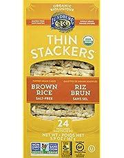 Lundberg Lundberg Organic Thin Stackers Brown Rice Salt Free, 167 Grams