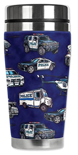 Police Stainless Steel - Mugzie 1259-MAX