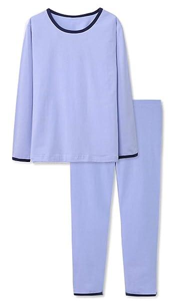 dc5d3e338 Amazon.com  Zegoo Boys   Girls Cotton Pajamas Set Thermal Underwear ...
