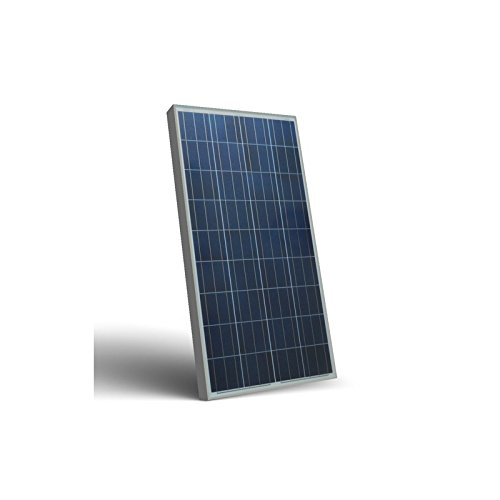 Photovoltaic Solar Panel 130W 12V Polycrystalline PV System Camper Boat Chalet Peimar