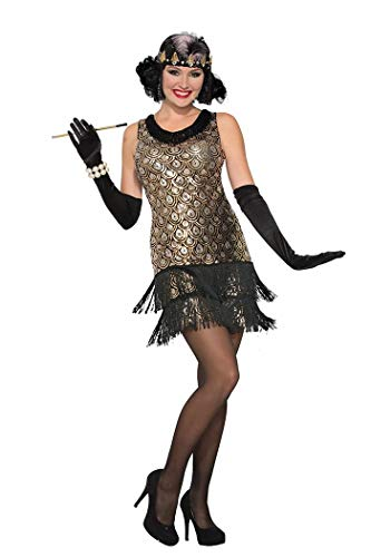 Forum Women's Roaring 20's Flapper Costume, Multi/Color, X Small