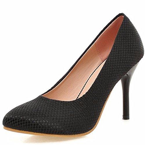 Zapatos de Tacón/Señalaron los Zapatos de Tacón Alto, Zapatos de Tallas Grandes, Bien Documental, Zapatos Zapatos OL Black