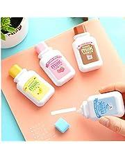 2pc Cute Milk Correction Tape Student Kawaii Stationery School Office Writing Corect Supplies Random Colors