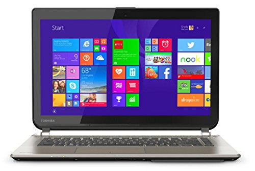 Toshiba Satellite E45-B4100 14-Inch Full HD 1080P Laptop (Intel Core i5-5200U Processor 1600MHz, 6GB DDR3L RAM, 750GB Hard Drive, Windows 8.1) Satin Gold