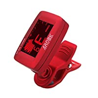 Decdeal AT-200 Clip-on Electric Tuner Three Colors Backlit LCD Screen 7