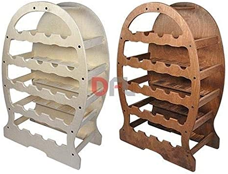 Barril botellero de madera multicapa de abedul, dimensiones