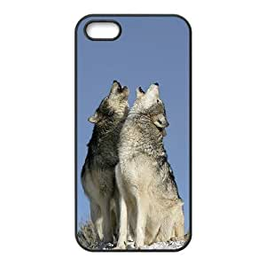 Wolf Brand New Cover Case for Iphone 5,5S,diy case cover ygtg600498