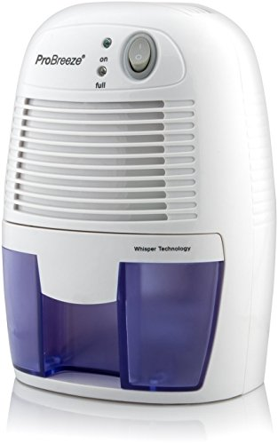 Pro Breeze 500ml Compact and Portable Mini Air Dehumidifier for Damp,...