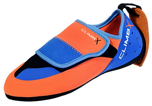 - Climb X Kinder Kids Climbing Shoe (2019 Model) (13) Blue and Orange
