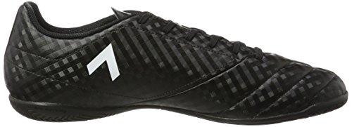 adidas Ace 17.4 In, Zapatillas de Fútbol para Hombre, Negro (C Black/Ftw White/Ngtmet), 48 2/3 EU