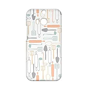 Kitchen HTC One M8 3D wrap around Case - Design 2