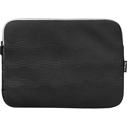 Debossed Laptop Sleeve Gray Black Targus