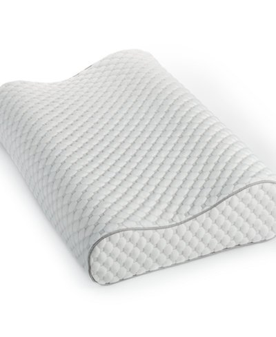 - Martha Stewart Collection Dream Science Memory Foam Contour Pillow Bedding