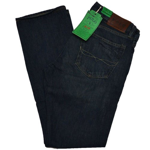 Riverside Spring - Polo Ralph Lauren Men's Slim Straight 018 Jeans (30x32, Riverside)